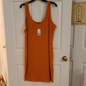 FOREVER 21+ Stretch Tank Dress
